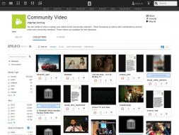Internet Archive's Video Section