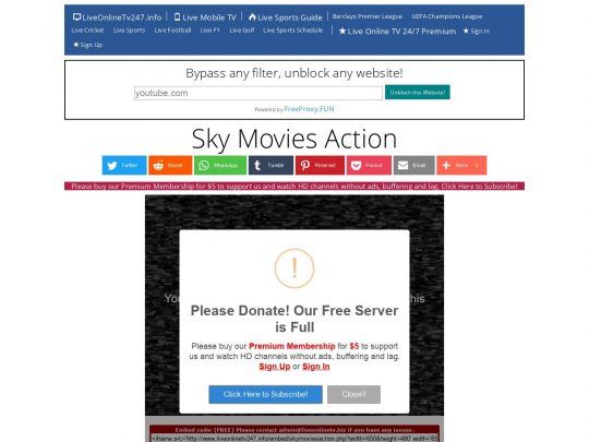 SKY MOVIES ACTION